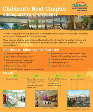 Childrens Adult info  skyway construction poster