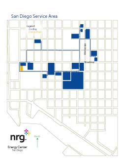 San Diego District Heating and Cooling map
